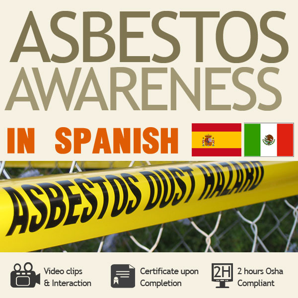 Asbestos Awareness Training in Spanish