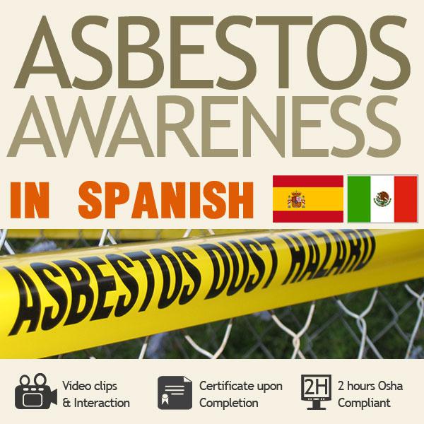 Asbestos Awareness Training in Spanish