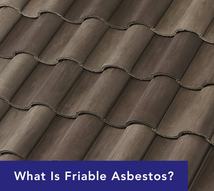 Friable Asbestos Roof